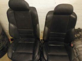 BMW E46 leather seats Recaro
