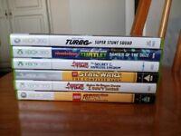 LEGO Indiana Star Wars Turbo Super Stunt Teenage Mutant Ninja Turtles Adveture Time XBOX 360 GAMES