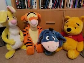 Winnie the Pooh large plush toys