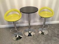 Breakfast Bar Stools with Table