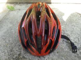 Dunlop adjustable adult bike helmet