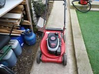 wanted faulty / not working petrol lawnmowers please rest of advert