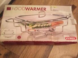 2 Pyrex food warmers