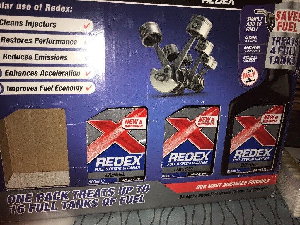 Redex diesel cleaner