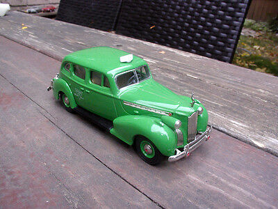 1/43 1940 PACKARD SUPER 8 BERLINE CHECKER TAXI CAB - REXTOYS for sale  Canada