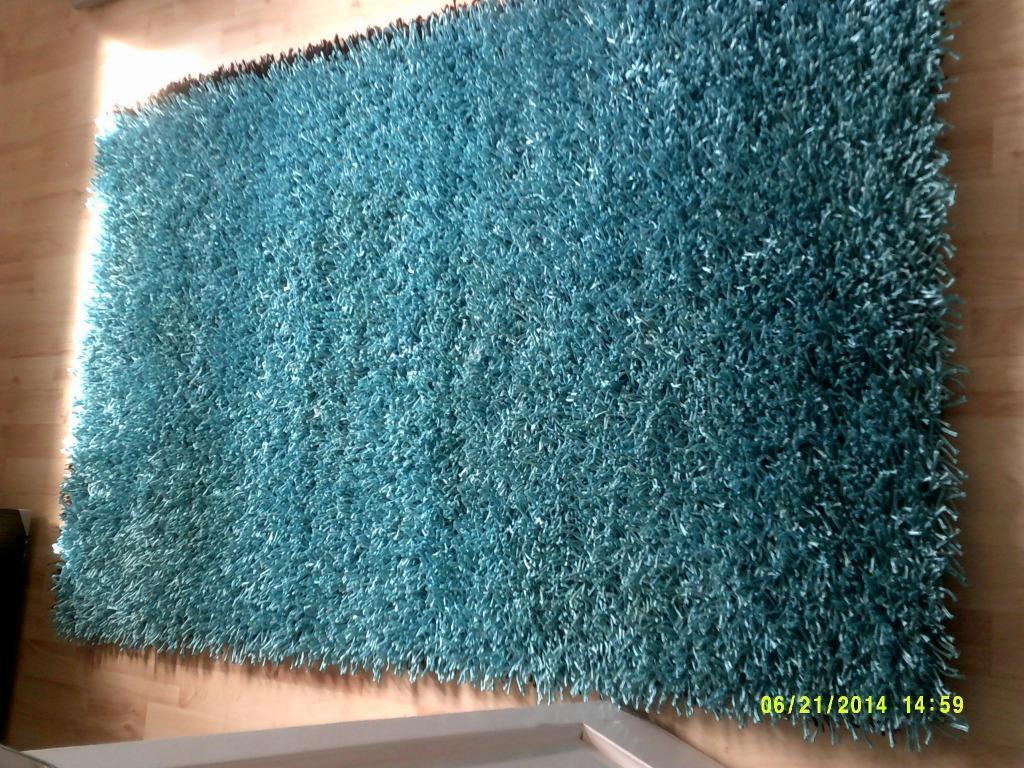 3ft X 5ft Aqua Blue Rug In West Calder West Lothian