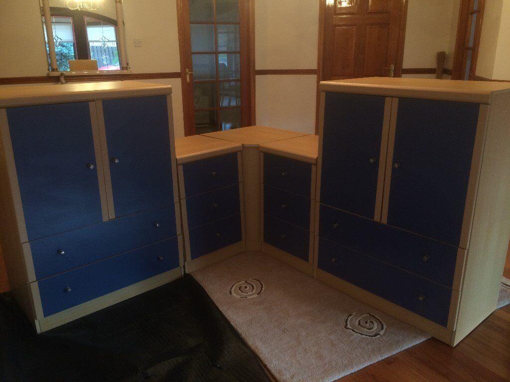 Bedroom Furniture Corner Units - Bedford Bedroom Furniture