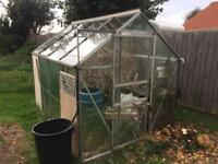8'x6' greenhouse - free to dismantler