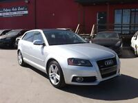 2011 Audi A3 2.0T S-LINE QUATTRO AWD/LEATHER/ROOF
