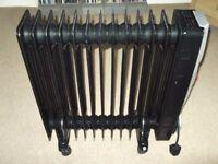 swan oil filled radiator 2300-2730 watts