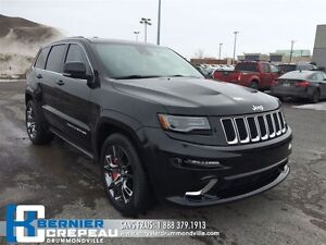 2014 Jeep Grand Cherokee SRT **GPS, TOIT PANORAMIQUE, FULL + WOW