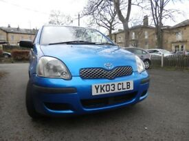 TOYOTA YARIS 1.0 LITRE, SUPERB DRIVE , CHEAP RUNNING COSTS, MOT 27/12/ 19, VERY VERY RELIABLE