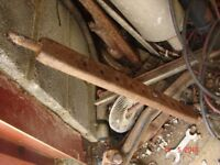 VINTAGE TRACTOR LINKAGE DRAWBAR
