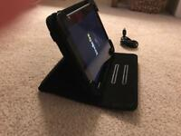 Kindle Fire (case and lead included)