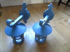 Carriage Lamps, cast metal