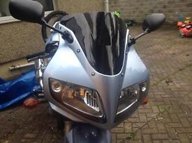 Sv650s double bubble tinted screen