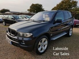 BMW X5 Sport Exclusive 5 Door Estate, Automatic, Full Service History, 1 Owner, Warranty Included.
