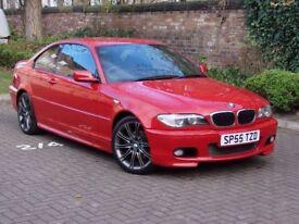AA WARRANTY!! 55 REG BMW 3 SERIES 2.0 320 Cd M SPORT 2dr, ALCANTARA SPORTS SEATS, FSH, 1 YEAR MOT