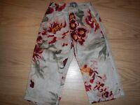 Funky Girls Kenzo Velvet Trousers 12m Perfect condition