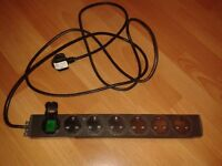 Powerstrip 6 Way Socket UK MADE PDU Server Rack Power Supply 13A Switched