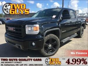 2015 GMC Sierra 1500 BLACKOUT | V8 4X4| HITCH| 20 INCH RIMS| EXT