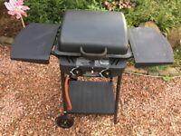 Double Burner Gas BBQ