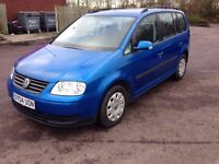 2004 VOLKSWAGEN TOURAN 1.9 MANUAL TDI PD S 5DR ESTATE DIESEL