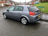 Vauxhall Signum, 2005, Grey, 1.9cdti Diesel, 6 MONTHS MOT, 137k Low Miles, Service History