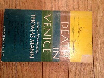 Death in Venice and seven other stories by Thomas Mann 1963 paperb a vintage bo (Death In Venice And Seven Other Stories)