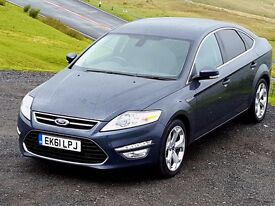 Very Low Mileage Ford MONDEO Titanium-X 2.0 Diesel PowerShift, Leather, FSH, Cruise, Climate, 2 K..