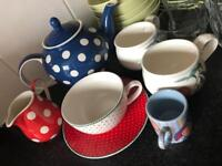 Light Green Ikea Plate Set &Bowl Set&Coffee Mug Cup&Glasses&Teapot
