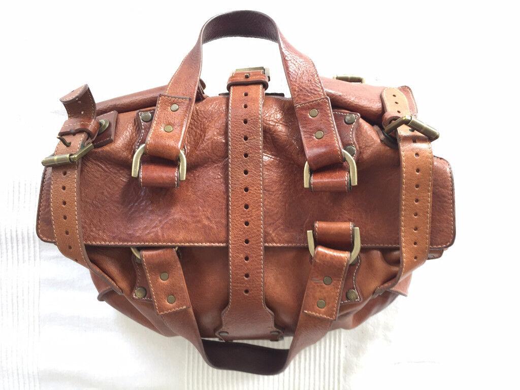 Vintage Mulberry Roxanne Leather Handbag (Oak)  10fdadf65e0cb