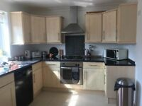 Complete kitchen! Including kenwood dishwasher, hob, hood, oven and microwave!