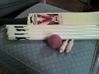 V600 Slazenger Cricket bat set Mark Butcher