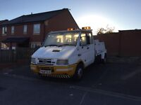 Iveco-Ford Recovery Truck Spec Lift Pick up truck