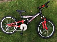"New ""Freespirit Robobike"" Children's mountain bike and complete bike set"