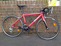 "Btwin Triban 3 Kids Road Triathlon Racing Bike, Size 45, 650cc (26"") Wheels"