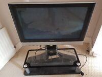 Panasonic 37 inch TV with stand FREE
