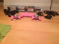 Pink PlayStation 2 slim