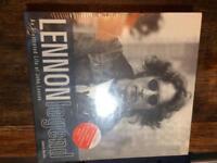 John Lennon book and scrapbook