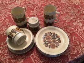 Poole Pottery Thistlwwood