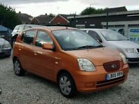 05 KIA PICANTO 1. LITRE - 10 MONTHS MOT - PX WELCOME