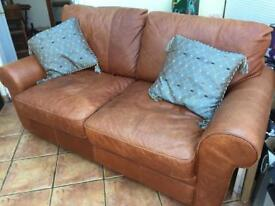 Beautiful soft leather sofa