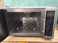 Jet convection cooker microwave