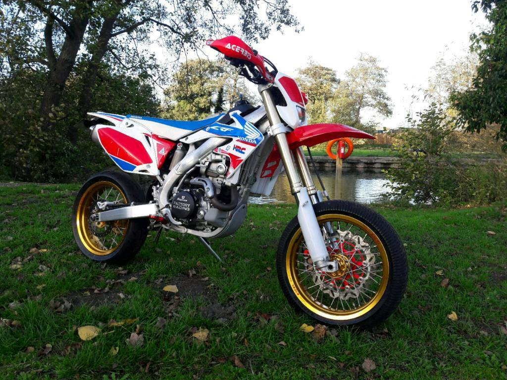 2016 Honda Crf 450 X Supermoto Enduro Road Legal