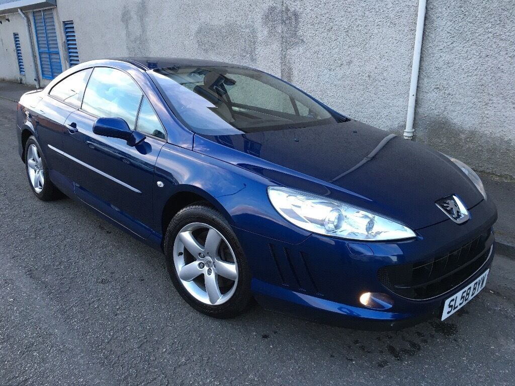 Stunning 2008 58 Peugeot 407 2.0Hdi 136 Sport Coupe **3 Owners+Full