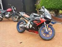 aprilia rs50 sportsbike 50cc 125cc cbt legal