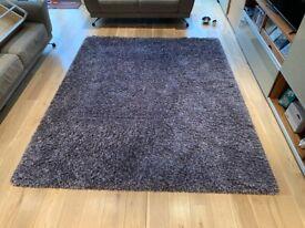 Stunning purple rug