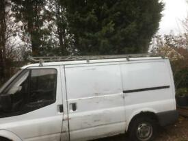 Ford transit roof wrack
