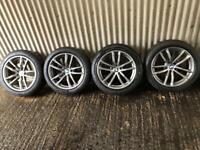 "Genuine 18"" BMW 5 Series M Sport Plus Staggered Alloy Wheels - 5x112 -"